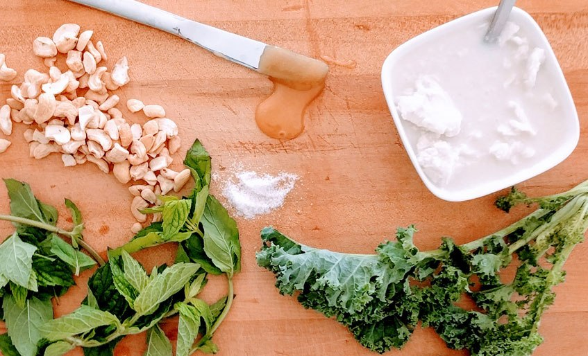 mintcake ingredients filling