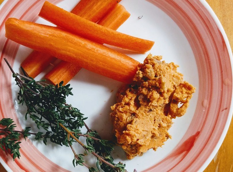 carrots and dip